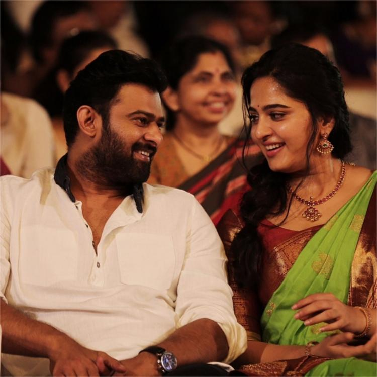When Anushka Shetty and Prabhas lit up the internet with THIS photo from Baahubali 2 promotions