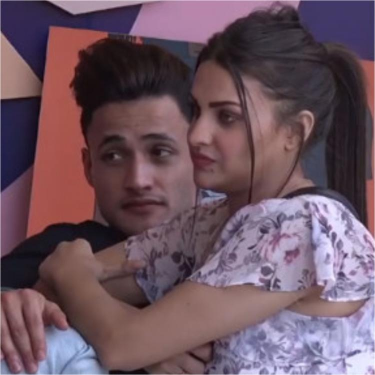 When Asim Riaz and Himanshi Khurana couldn't stop hugging each other as latter exited Bigg Boss 13; WATCH
