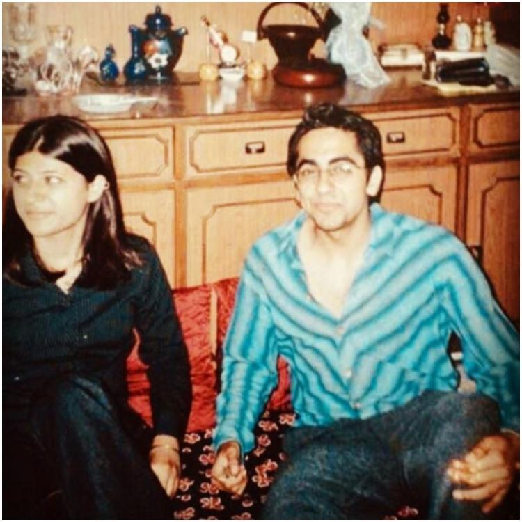 When Ayushmann Khurrana & Tahira Kashyap practiced social distancing in 1st year of dating; See THROWBACK pic