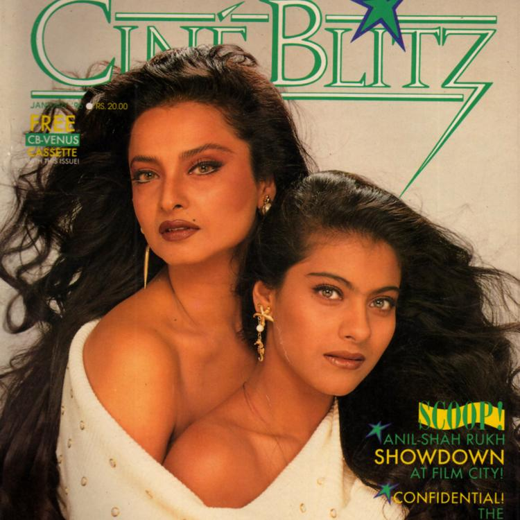 When Bollywood beauties Kajol and Rekha faced flak for posing in the same sweater for a magazine cover