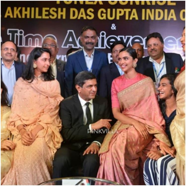 When Deepika Padukone and PV Sindhu shared a hearty laugh while chatting with Prakash Padukone; SEE PHOTO