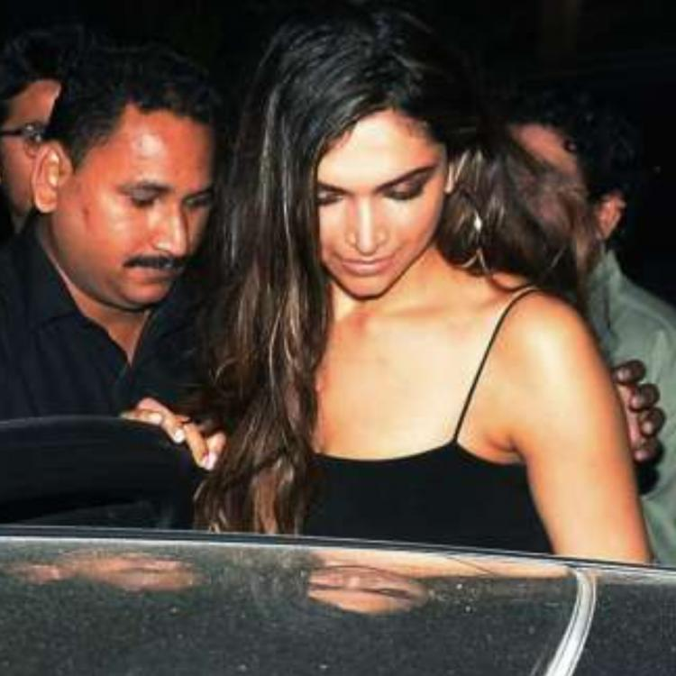 Deepika Padukone leaving Koko in October 2017.