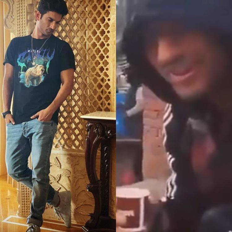 When Dil Bechara actor Sushant Singh Rajput enjoyed his morning 'chai' at a tea stall; Watch