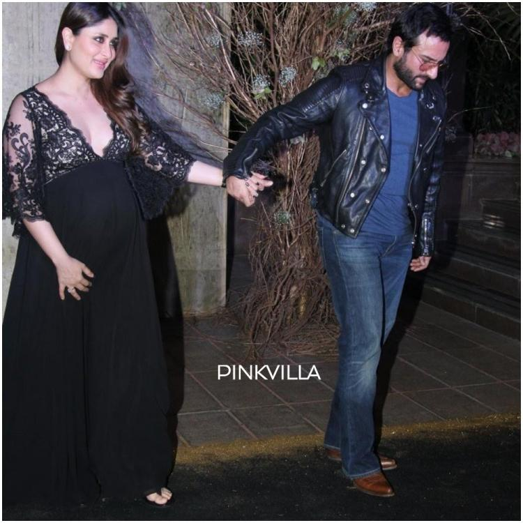 When Kareena Kapoor Khan was expecting Taimur and Saif Ali Khan took her out for a bash with her friends