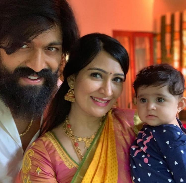 When KGF star Yash got teary eyed seeing his daughter Ayra cry after getting her ears pierced