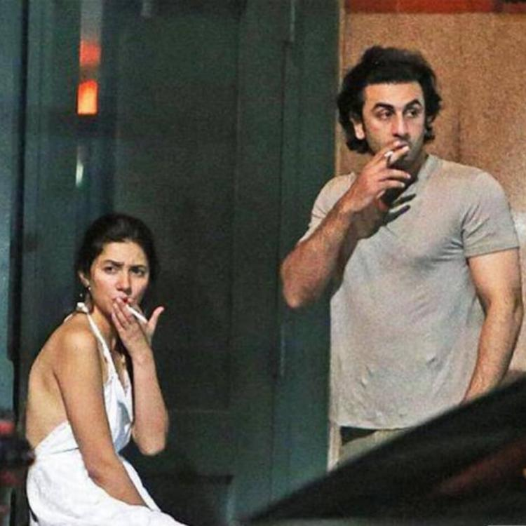 When Ranbir Kapoor's smoking picture with Mahira Khan took the internet by  storm | PINKVILLA