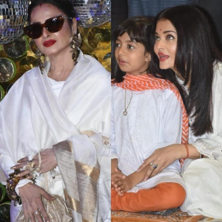 When Rekha penned a heartfelt letter for Aishwarya Rai Bachchan and praised  her for being 'Amma' to Aaradhya | PINKVILLA