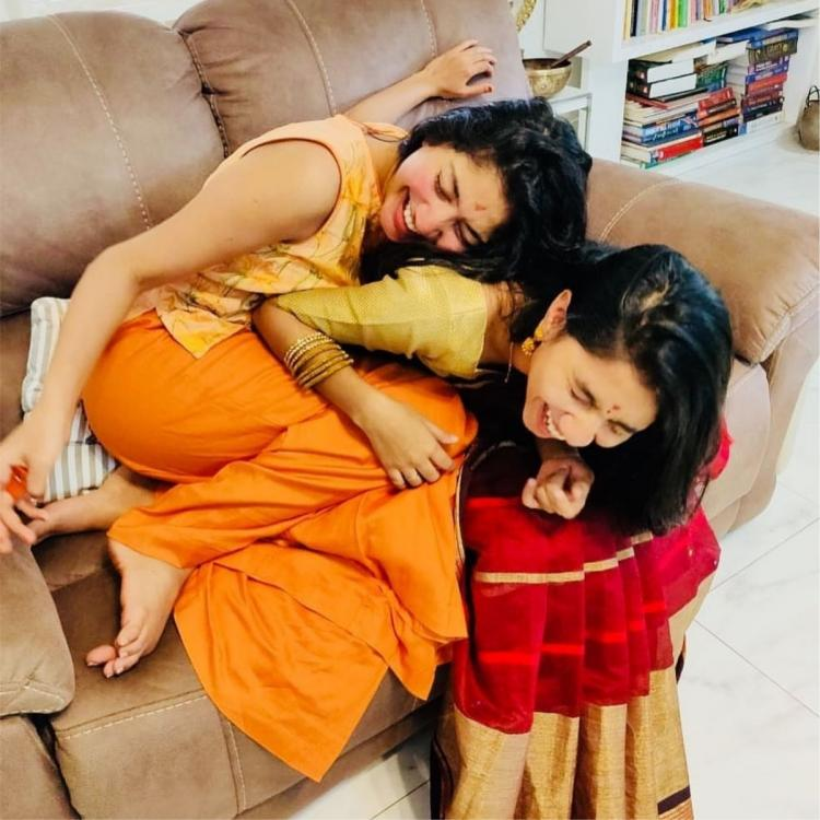 When Sai Pallavi and her sister had a barrel of laughter in this THROWBACK photo