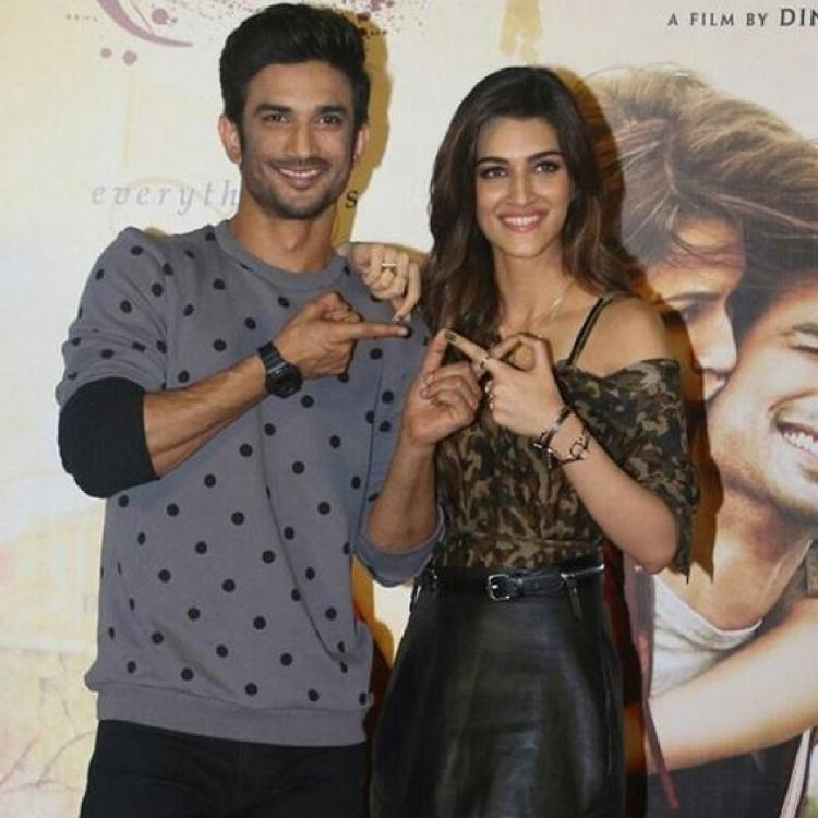 When Sushant Singh Rajput revealed similarities between him & Kriti Sanon to be the reason of their friendship