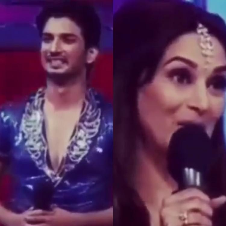 When Sushant Singh Rajput was floored after receiving a compliment from Madhuri Dixit as she called him a hero