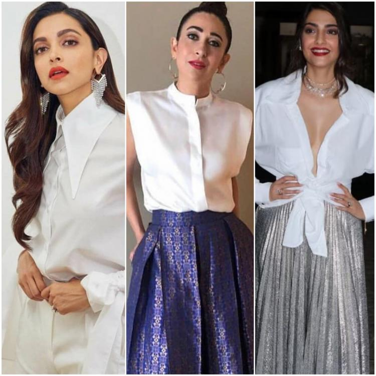 Deepika Padukone to Sonam Kapoor: 5 celebrity approved ways of wearing your white shirt in style