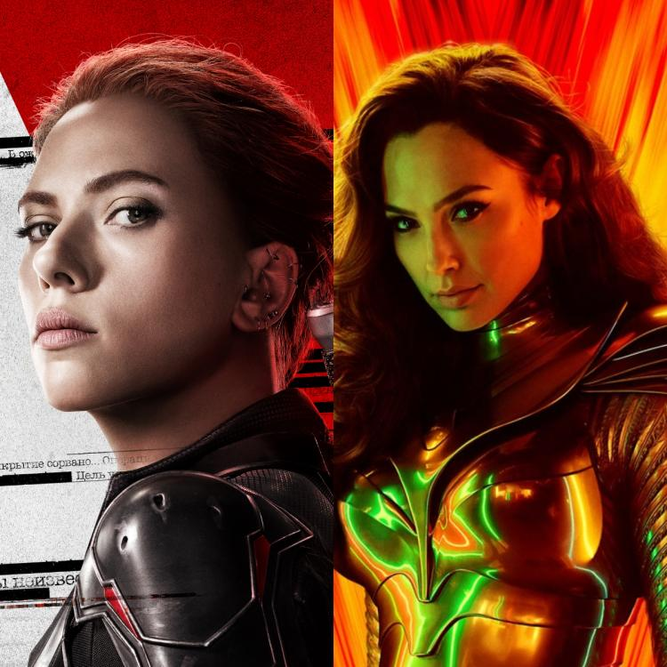 From Black Widow to Wonder Woman 1984, Hollywood is being taken over by women and that's the tea!