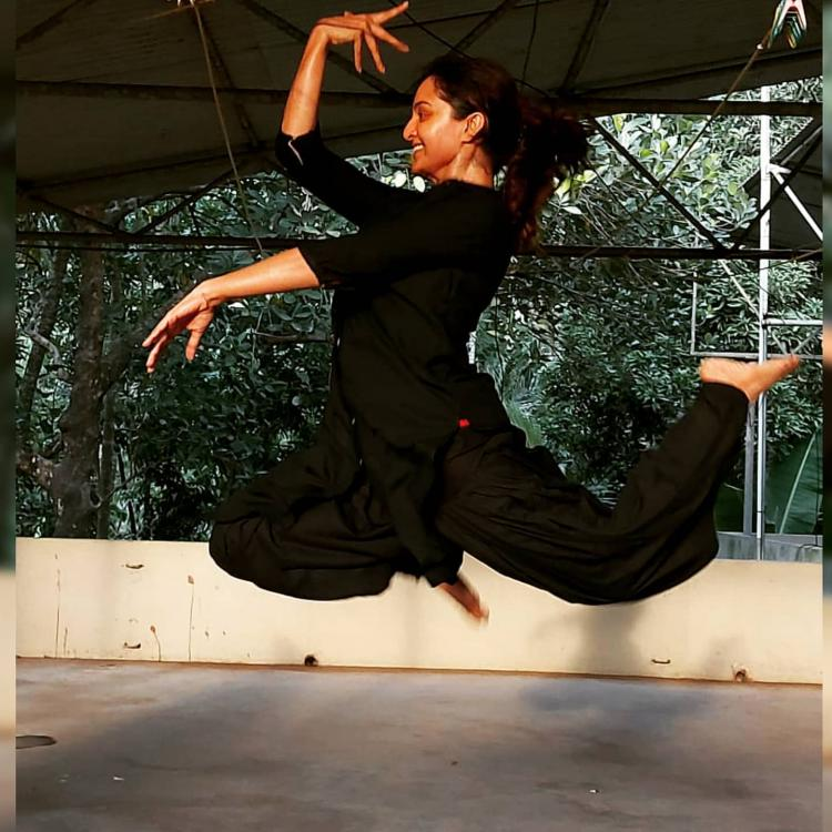 World Dance Day: Manju Warrier shares a beautiful picture; Says 'Dancers don't need wings to fly'