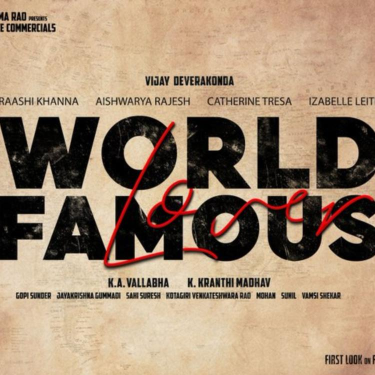 Vijay Deverakonda's next film with Kranthi titled World Famous Lover; Here's everything you need to know