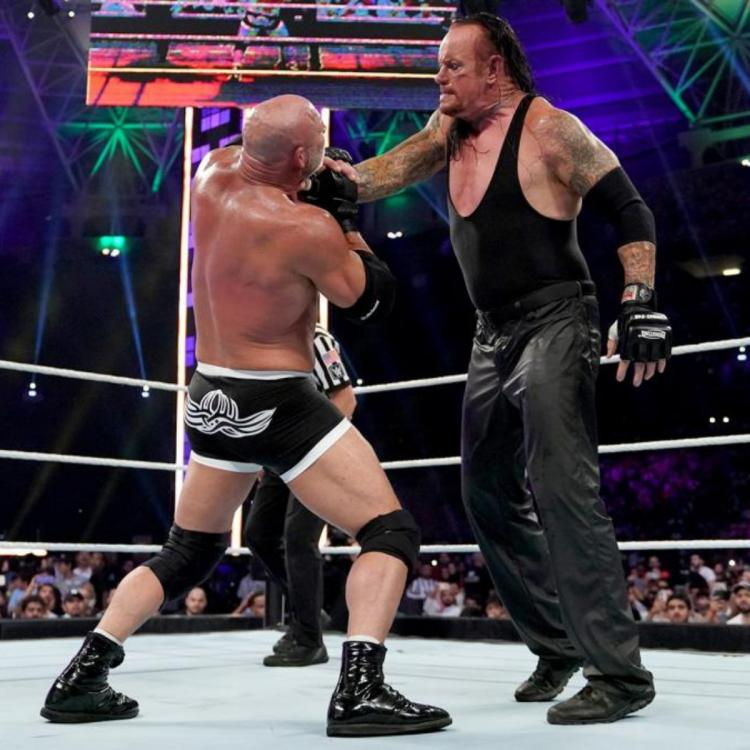 Goldberg and The Undertaker's match at Super ShowDown was heavily criticised by the WWE Universe.