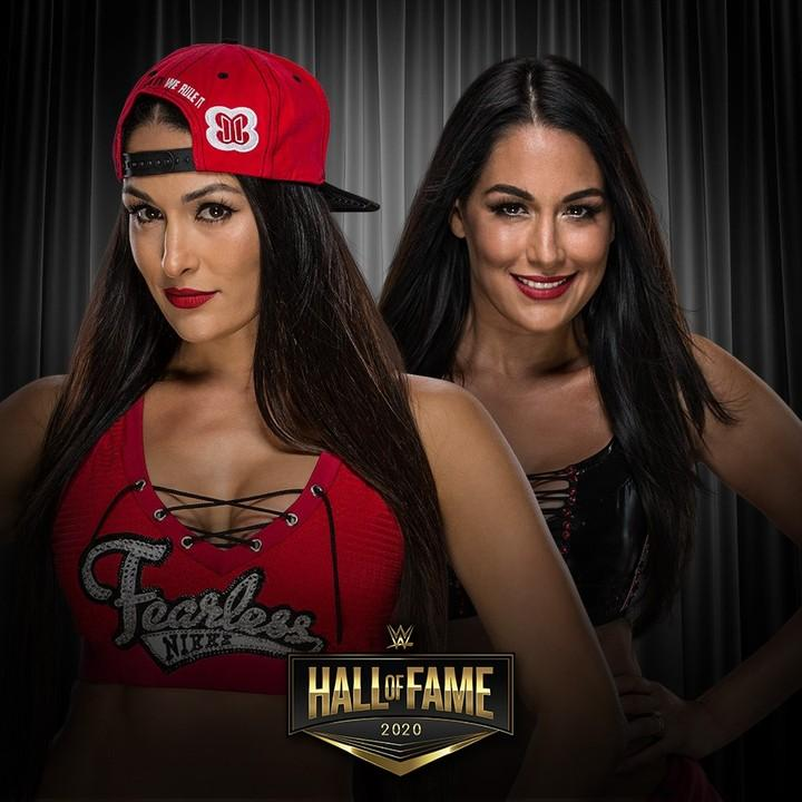 The Bella Twins join Dave Bautista and nWo in the WWE Hall of Fame as a part of the Class of 2020.