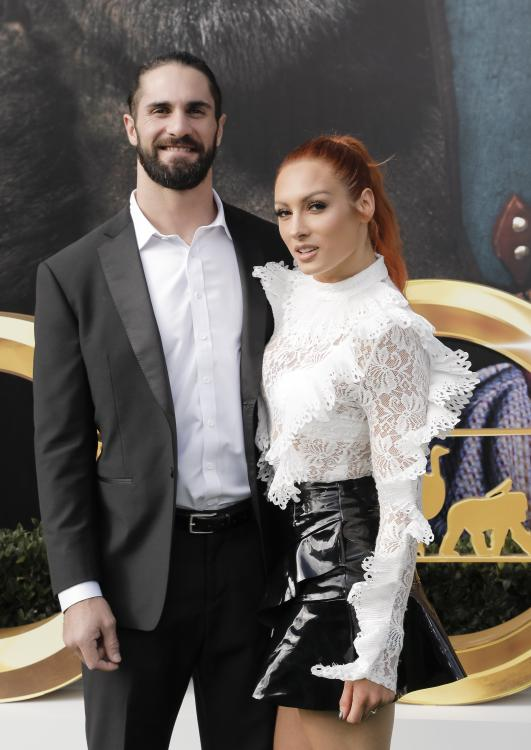 Seth Rollins and Becky Lynch will be welcoming their first child in December 2020.