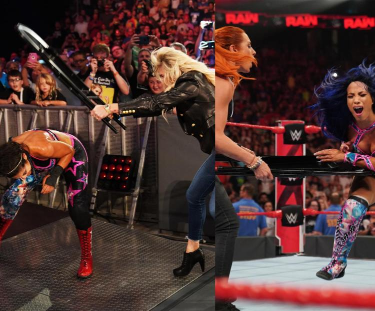 Becky Lynch will face Sasha Banks for the RAW Women's Championship at Hell in a Cell.