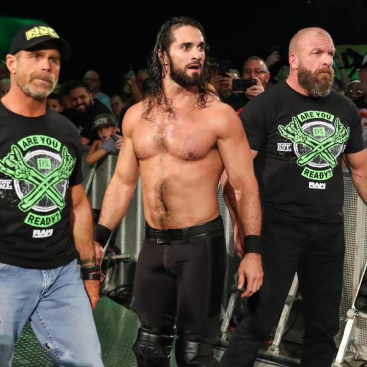 WWE RAW Reunion: Seth Rollins gets assistance from Triple H and Shawn Michaels against AJ Styles
