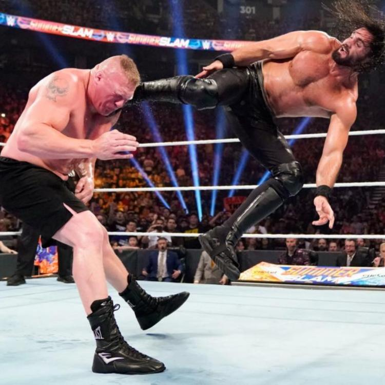 Seth Rollins was able to beat Brock Lesnar clean to win back the Universal Championship.