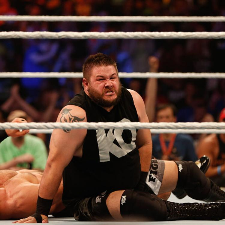 WWE star Kevin Owens warns fans to stay safe after his wife's grandfather dies of COVID 19