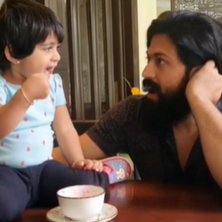 Yash and Ayra ice cream video