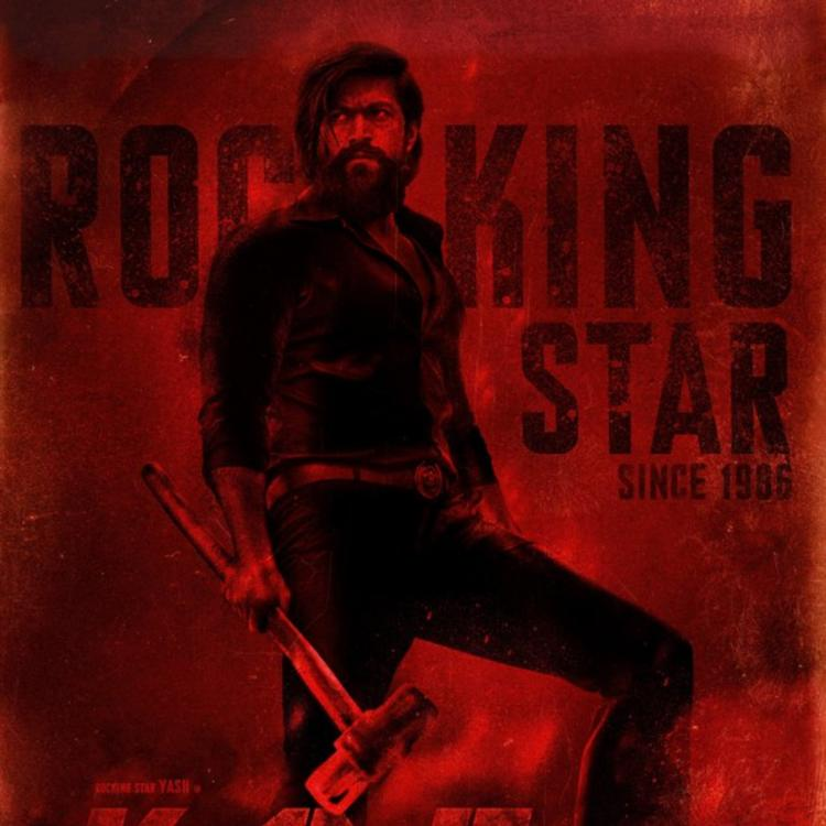 Yash Birthday Special: Makers of KGF 2 release a new poster; Actor looks intense and ready to attack