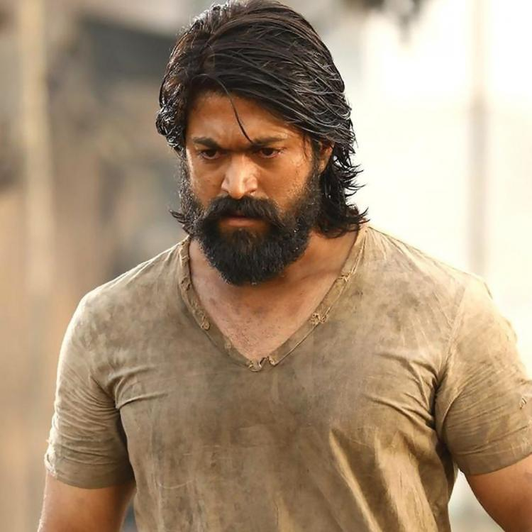 Rocky Bhai Yash's working stills from KGF: Chapter 1 sets released by the makers; See PHOTOS