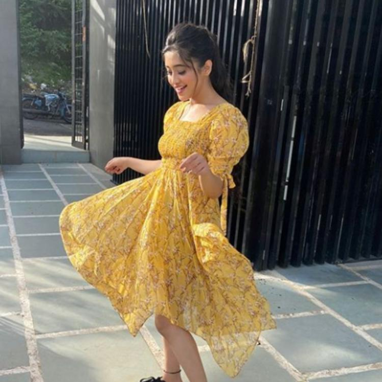 PIC: Shivangi Joshi looks delightful in a yellow outfit; Ashnoor Kaur aka YRKKH's young Naira calls her Cutie
