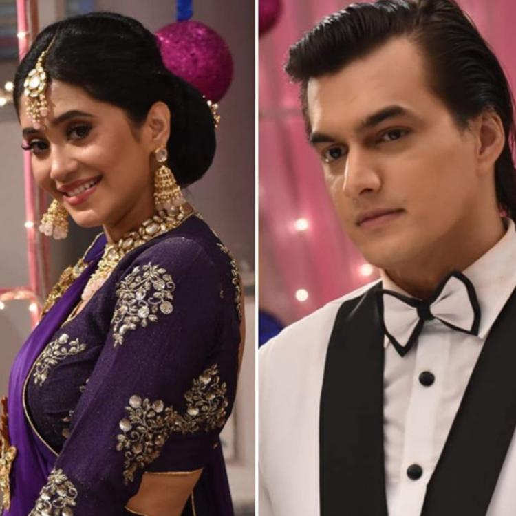 YRKKH: Shivangi Joshi, Mohsin channel their inner Madhuri Dixit, Salman Khan from Hum Aapke Hain Koun; Photos