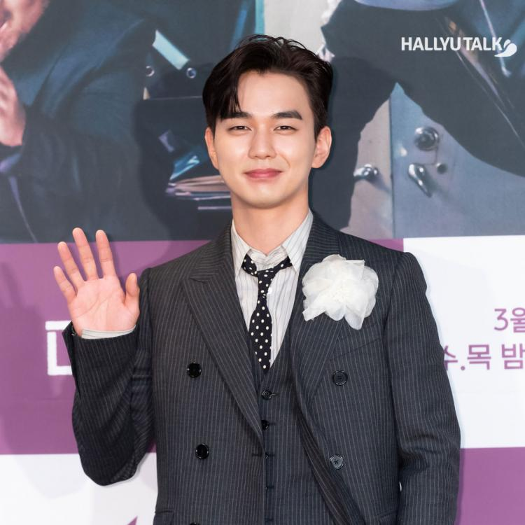 Actor Yoo Seung-ho is posing at the production presentation of tvN's new Wednesday and Thursday drama 'Memorist' held at CJENM