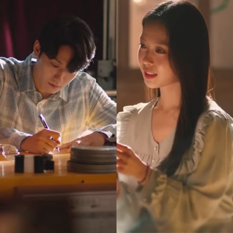 A still from the first teaser trailer of Lee Do Hyun and Go Min Si's upcoming drama, Youth Of May