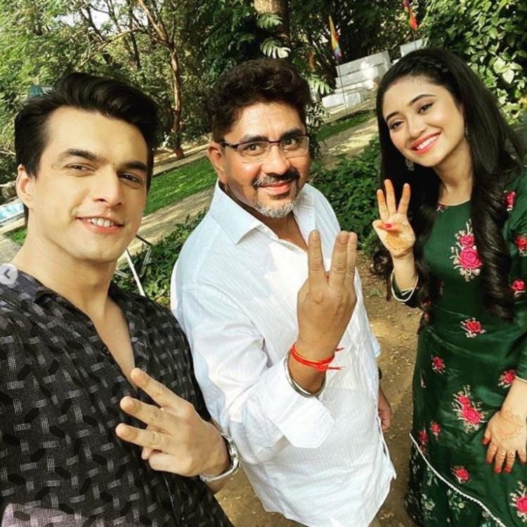 YRKKH's Mohsin Khan and Shivangi Joshi send Diwali wishes to fans; Urge them to be safe & stay indoors
