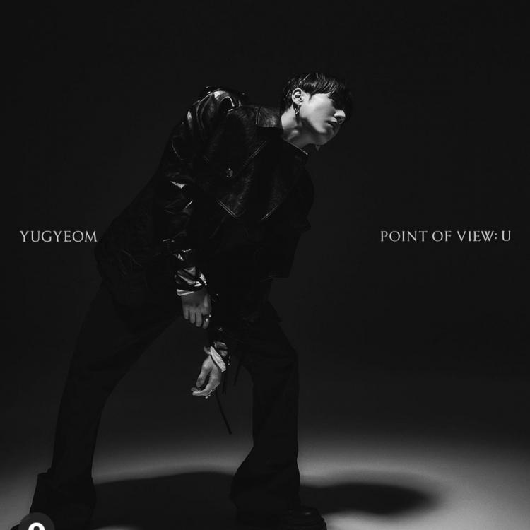 Yugyeom poses for the concept photo of Point Of View: U