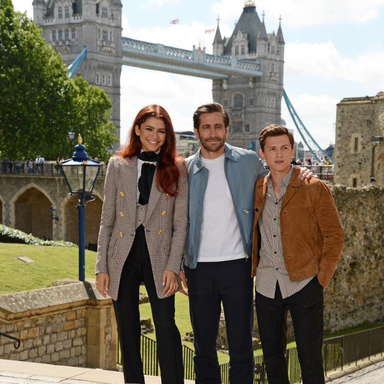 Tom Holland, Zendaya, Jake Gyllenhaal and others attend the Spider Man: Far From Home photocall, View PICs
