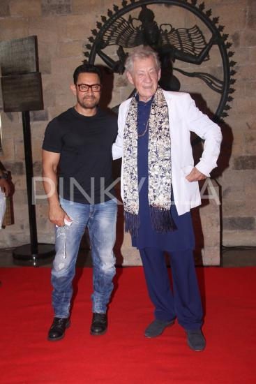 Photos,aamir khan,Ian Mckellen