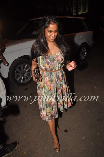 Photos,sameera reddy,sushma reddy,Arpita Khan,Mushtaq Sheikh's birthday bash