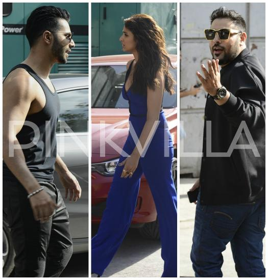 Photos,parineeti chopra,Varun Dhawan,badshah,Dream Team,Dream Team US Tour