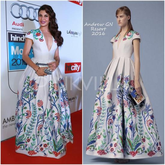 Celebrity Style,Jacqueline Fernandez,tanya ghavri,Dior,Andrew GN,Housefull 3,HT Most Stylish Awards 2016