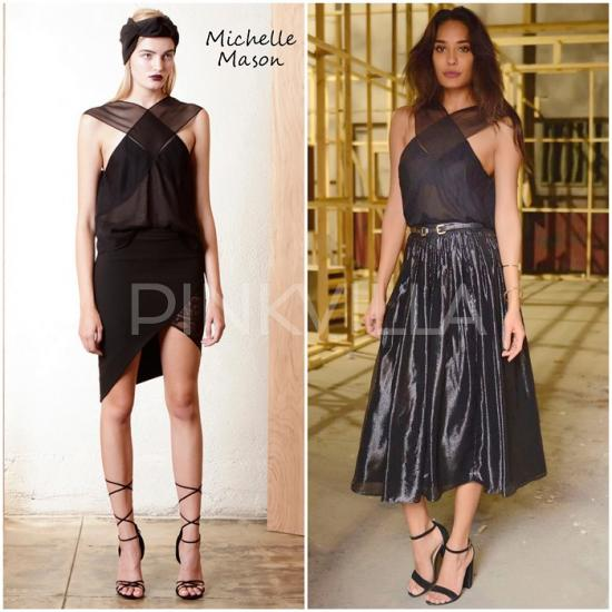 Celebrity Style,lisa haydon,tanya ghavri,Alice and Olivia,Mason by Michelle Mason,Housefull 3