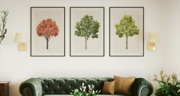 6 Tips to choose the perfect painting for your living room