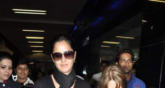Katrina Kaif snapped with her mom Suzanne Turquotte ...