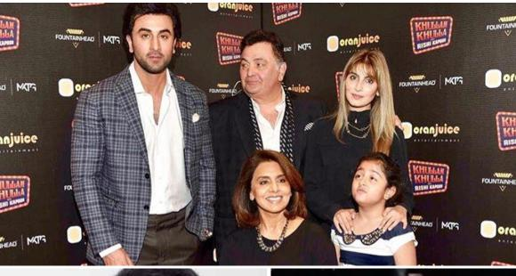 In pic: Neetu Kapoor reveals how Rishi Kapoor coped with daughter Riddhima moving to Delhi after marriage thumbnail