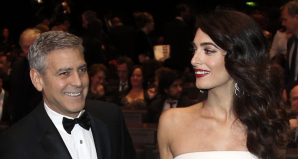 George And Amal Clooney Welcome Their Twins Ella And