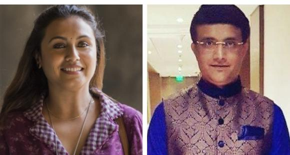 Hichki: Rani Mukerji to be a guest on Sourav Ganguly's show