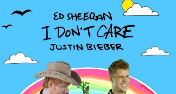 Ed Sheeran and Justin Bieber's official music video of 'I Don't Care