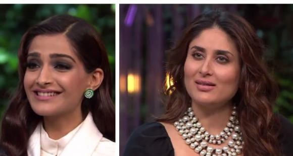 KWK 5: Watch Kareena and Sonam go all out in this Koffee