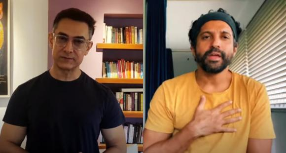 Aamir Khan, Farhan Akhtar & others collaborate to recreate the song Dil Chahta Hai to raise funds for COVID 19 thumbnail
