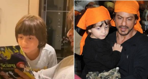 AbRam Khan's birthday celebration included his favourite person Shah Rukh Khan, a 'scary' story & Harry Styles