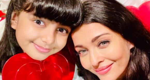 Aishwarya Rai Bachchan calls Aaradhya her 'darling angel' as she shares lovely PHOTOS with her